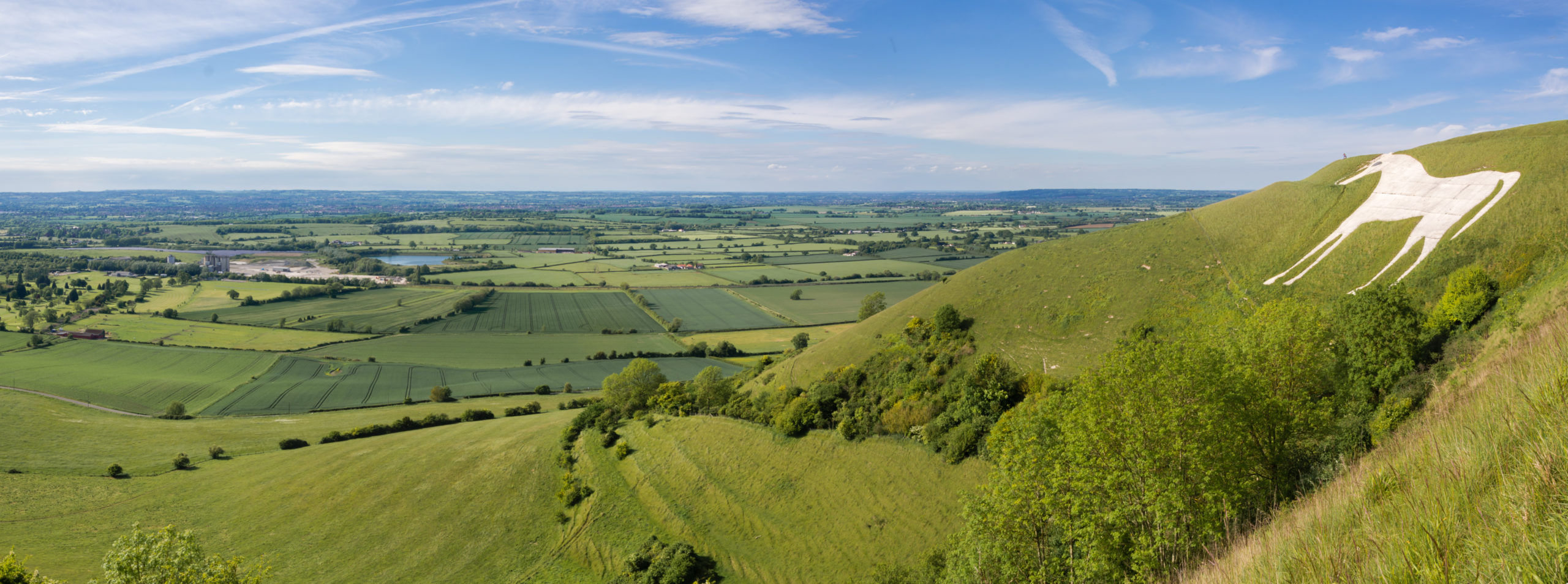 View From Westbury White Horse.
